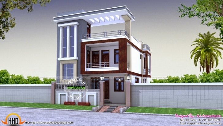 Classy 30*50 House Front Design 25 Feet Front Design Pic