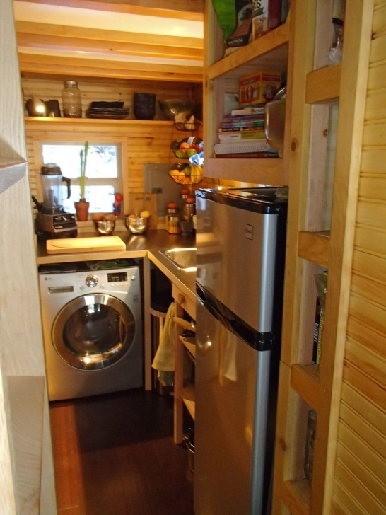 Classy A 160 Square Feet Tiny House On Wheels Built From A Modified Version Walden Tiny House Swoon Picture