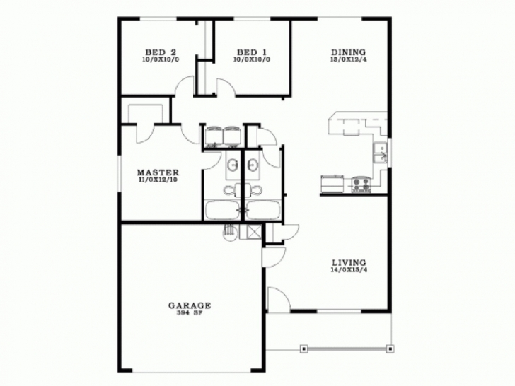 Classy Awesome 3 Bedroom Bungalow House Plans In The Philippines - New Home Bungalow 3 Bedroom House Plans Picture