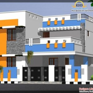 Residential Building Plan And Elevation In India