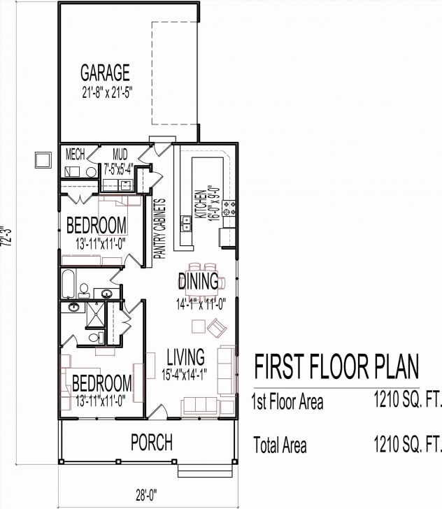 Classy House Map Design 20 X 60 Unique 30 Elegant Home Plan 15 X 60 15 X 60 House Map Pic
