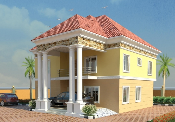 Classy Modern Duplex House Designs In Nigeria — House Style And Plans Modern Duplex Houses In Nigeria Picture