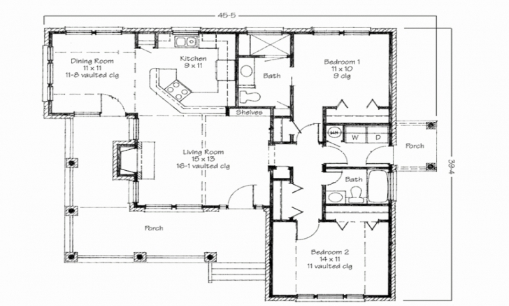 Classy Simple 3 Bedroom House Plans In Nigeria | Ayathebook 3 Bedroom Flat Plan Drawing In Nigeria Photo