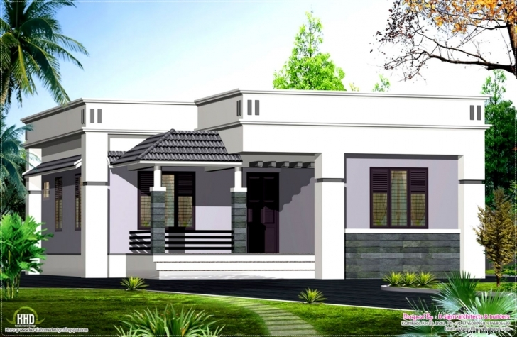 Classy Single Floor House Designs Kerala Planner Modern Picture Home Plans Stylish Single Houses Photo