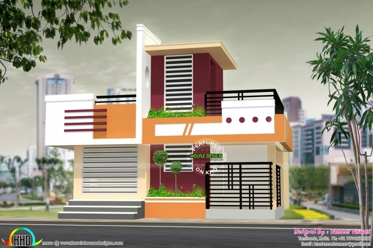 Cool 1150 Sq-Ft 2 Bhk House Plan | Kerala Home Design | Bloglovin' 2Bhk Indian House Pic Image