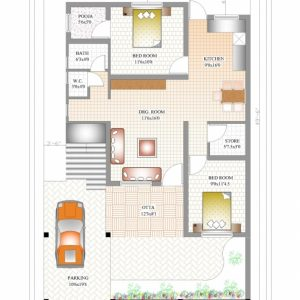 Small 2 Bedroom House Plans Indian Style