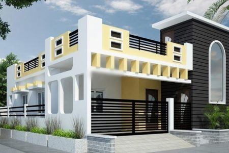 New House Front Elevation Designs For Single Floor