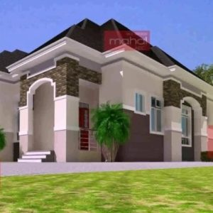 Four Bedroom Bungalow Design In Nigeria
