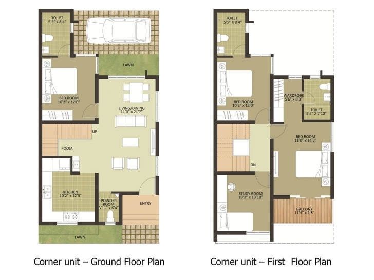 Cool 600 Sq Ft House Plans In Chennai Plan 500 Square Feet Apartment 1200 Sq Ft House Plan With Car Parking In Chennai Pic