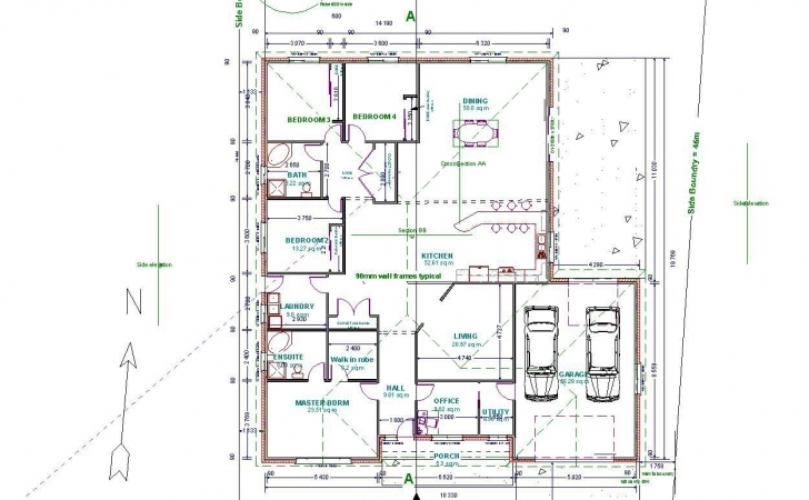 Cool Autocad Drawing Samples Drawings Floor Plans House Modeling Tutorial Autocad Drawing House Plan Sample Picture