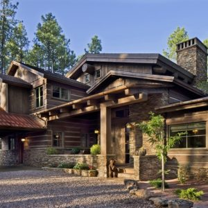 Small Luxury Mountain Home Plans