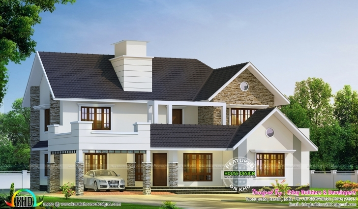 Cool Colonial Style House Plans Perfect May 2017 Kerala Home Design And New House Plans For 2017 Kerala Style Picture
