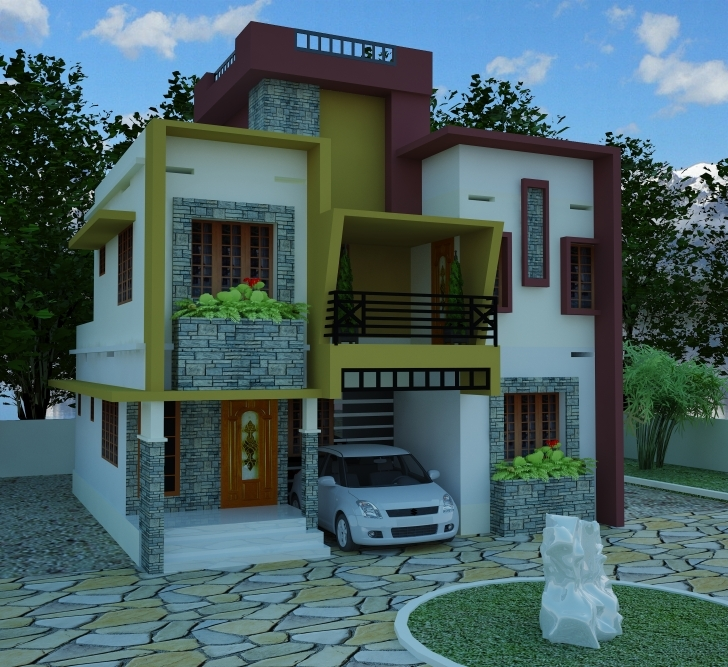 Cool Contemporary Model House Plans | Kerala Model Home Plans Contemporary Model House Image