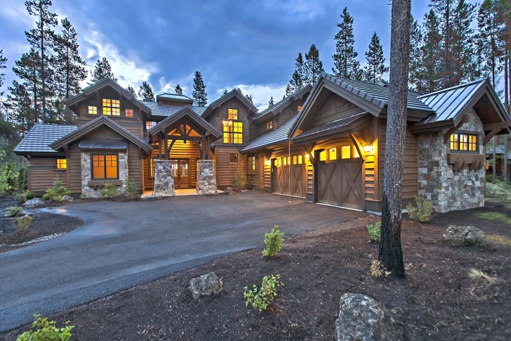 Cool Mountain Lodge House Plans Rustic Small Cabin | Carsontheauctions Luxury Mountain Lodge Home Plans Photo