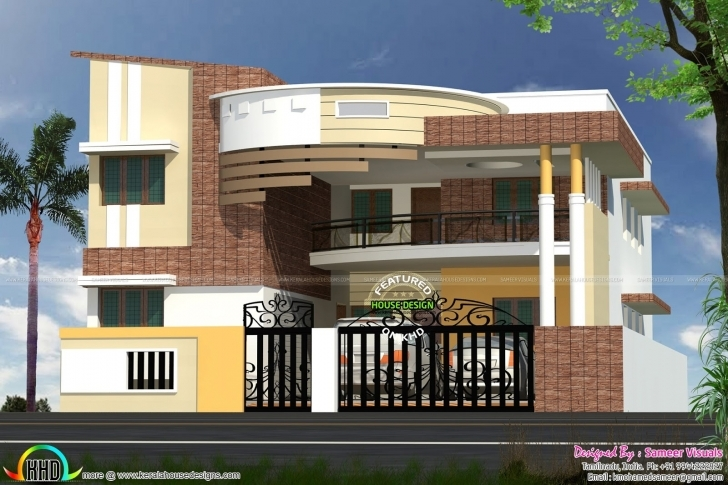 Cool New Home Design Plans Indian Style Collection - Home Design Plan 2018 New Home Designs 2018 India Photo