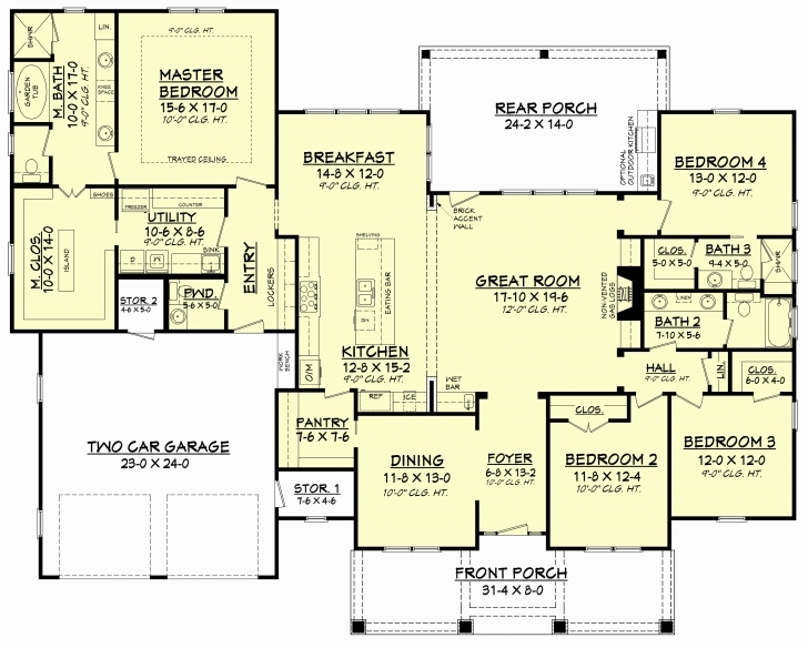 Cool Pictures Of 5 Bedroom House Plans Inspirational 4 Bedrm 2759 Sq Ft Ghana 5 Bedroom House Plans Image
