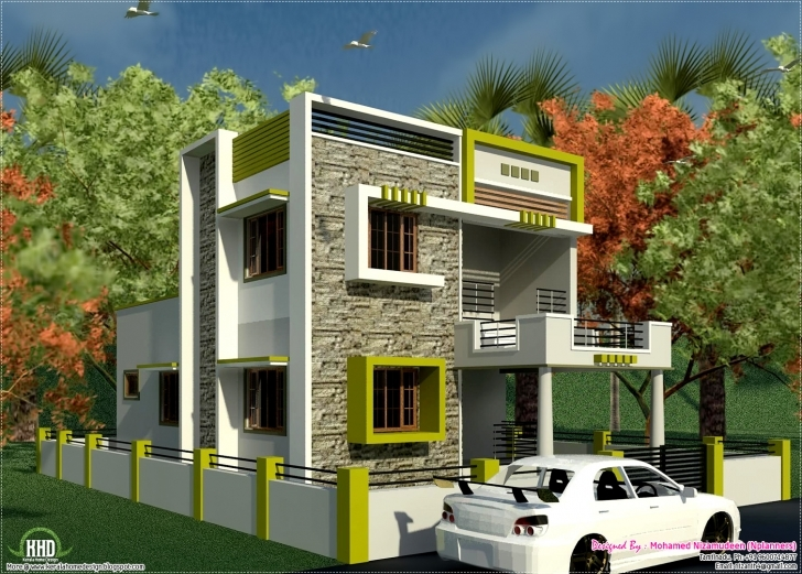 Cool South Indian Style New Modern 1460 Sq. Feet House Design - Kerala Small House Plans In South Indian Style Photo
