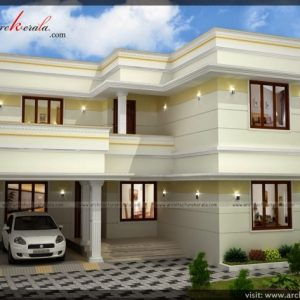 Double Storey House Plans In Kerala