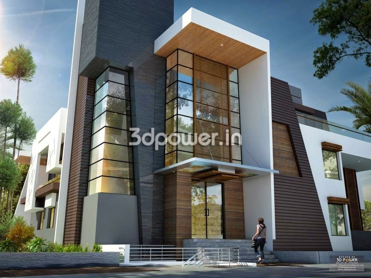 Cool Ultra Modern Home Designs | Home Designs: House 3D Interior Exterior Modern 3D Elevation Pic