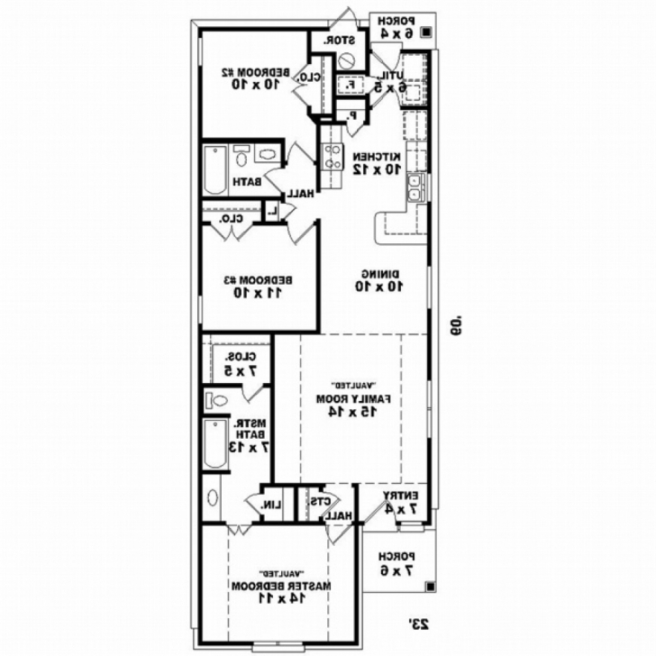 Exquisite 20 X 60 House Plans North Facing - House Plans North Facing House Plans 20 X 60 Pic