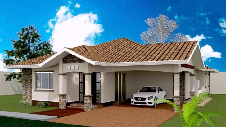Exquisite 3 Bedroom Bungalow House Plan Philippines - Youtube Three Bedroom Bungalow Pic