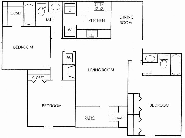 Exquisite 3 Bedroom Flat House Plan In Nigeria Awesome 3 Bedroom Flat Plan Modern 3 Bedroom Flat Plan Pic
