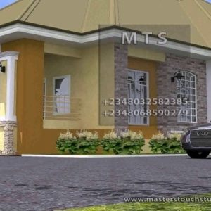 Pictures Of Beautiful House Or Half A Plot In Nigeria
