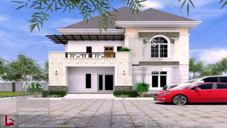 Exquisite 5 Bedroom Duplex House Plans In Nigeria - Youtube 5 Bedroom Duplex Floor Plans In Nigeria Picture