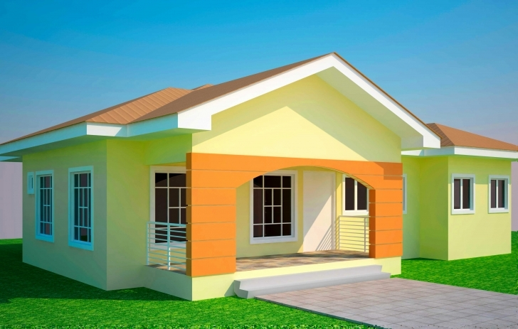 Exquisite Beautiful House Plans In Kenya Fresh 3 Bedroom House Plan In Ghana 3 Bedrooms House Plan In Ghana Picture