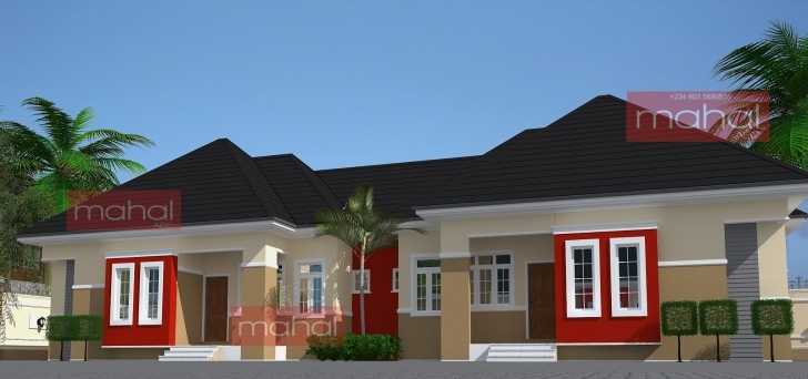 Exquisite Contemporary Nigerian Residential Architecture: Ezinne Flats Best Bungalow Building In Nigeria Picture
