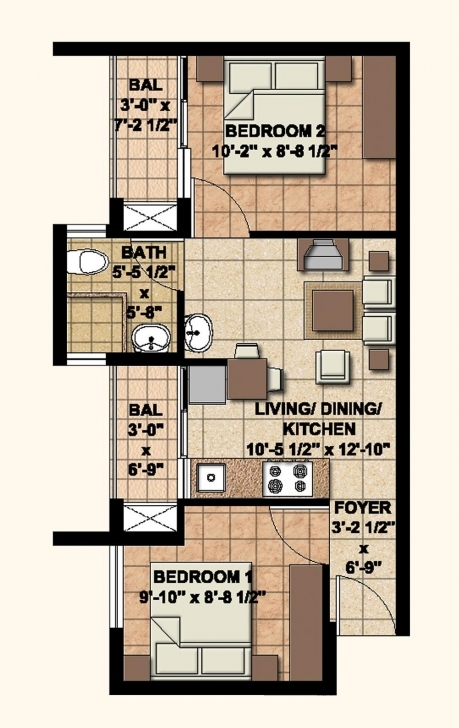 Exquisite Fascinating 20*50 House Plan 2Bhk Images - Exterior Ideas 3D - Gaml 20*50 House Plan 1Bhk Picture