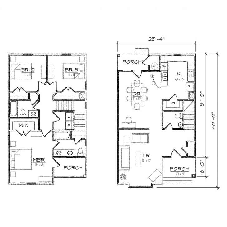 Exquisite Home Architecture: House Plan Enjoyable Ideas Free Blueprints For Small House Plans Pic