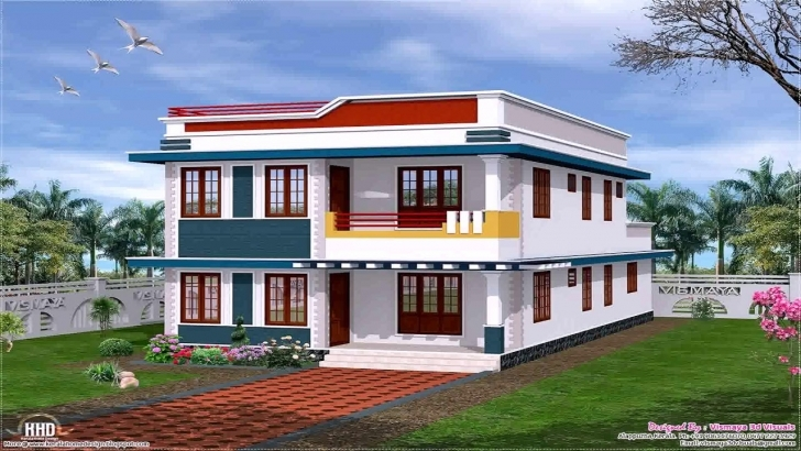 Exquisite House Front Design Single Story - Youtube Single Floor Home Front Design Image