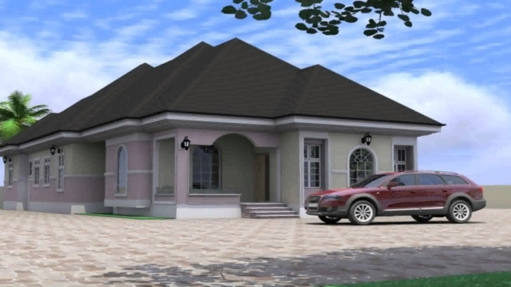 Exquisite House Plan Design In Nigeria - Youtube Nigeria House Plane Image