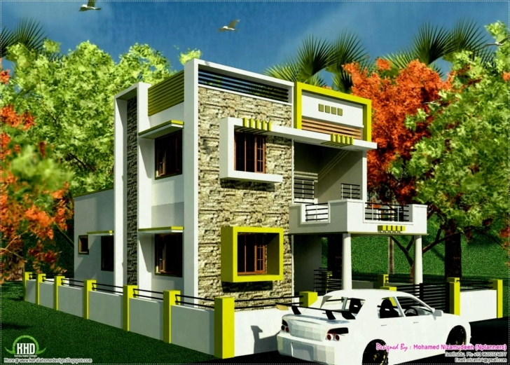 Exquisite Indian Small Modern House Picture South Traditional India Design South Indian Small House Images Pic