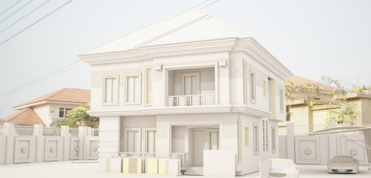 Exquisite Lekki Duplex - Art, Graphics & Video - Nigeria Duplex Designs On Half Plot Of Land Pic