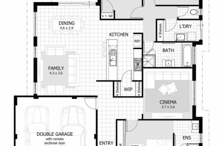 Three Bedroom House Plans In South Africa