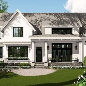 Modern Farmhouse Plans With Photos