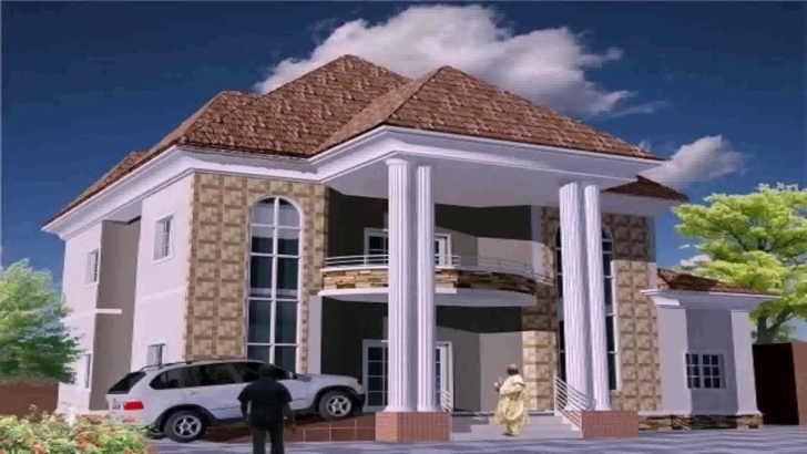Exquisite Residential House Plans In Nigeria - Youtube Nigeria House Plans Picture
