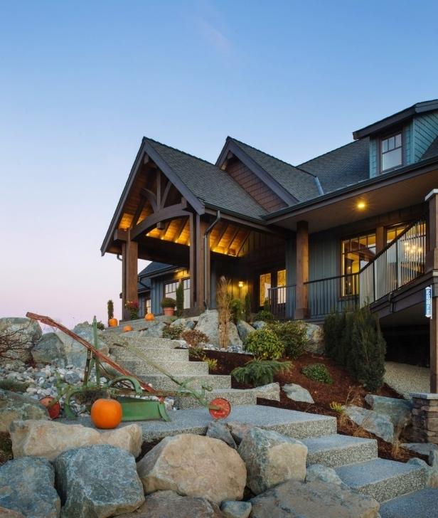 Exquisite Rustic Mountain Homes Exterior With Home Vancouver Siding And Rustic Mountain Home Image