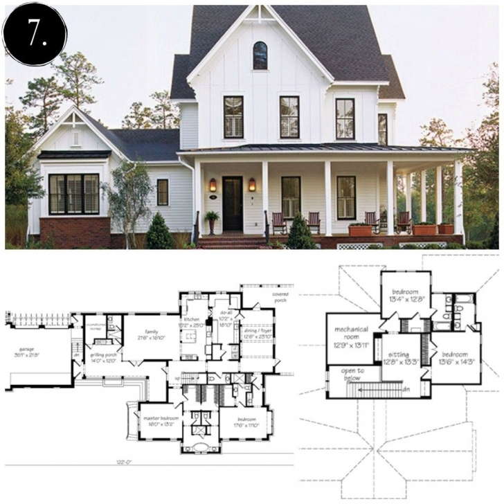 Fantastic 10 Modern Farmhouse Floor Plans I Love - Rooms For Rent Blog Modern Farmhouse Floor Plans With Pictures Pic