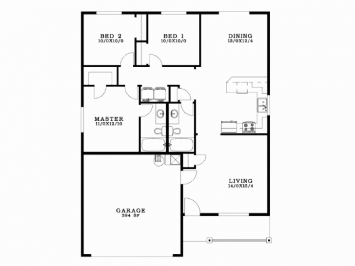 Fantastic 3 Bedroom 2 Bath Bungalow Floor Plan Luxury Four Bedroom Bungalow 3 Bedroom 2 Bath Bungalow Floor Plan Picture
