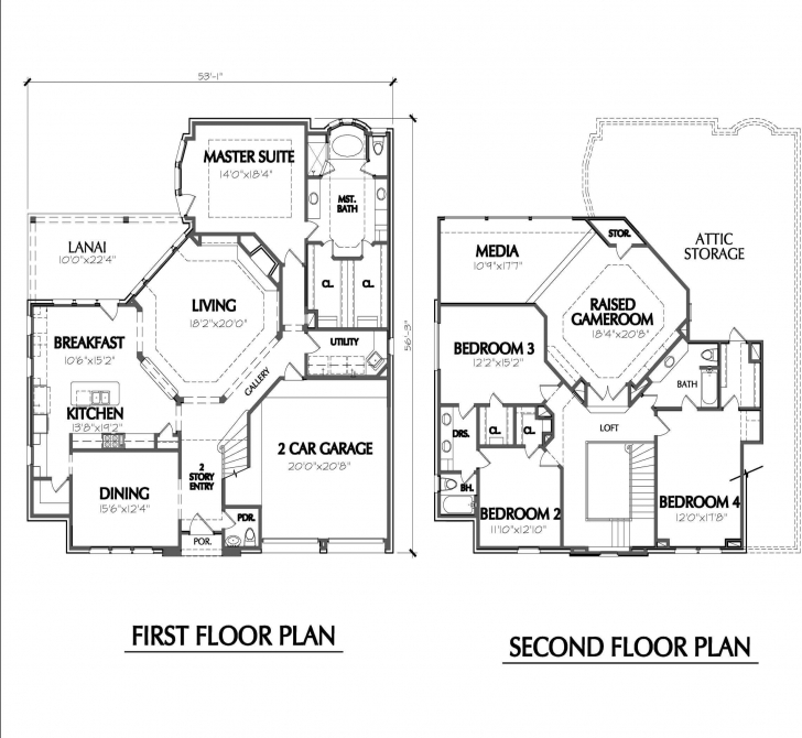 Fantastic 30 Ft Wide House Plans Best Of Map House Plan Interesting 30 Ft Wide Map Of House 53*53 Photo