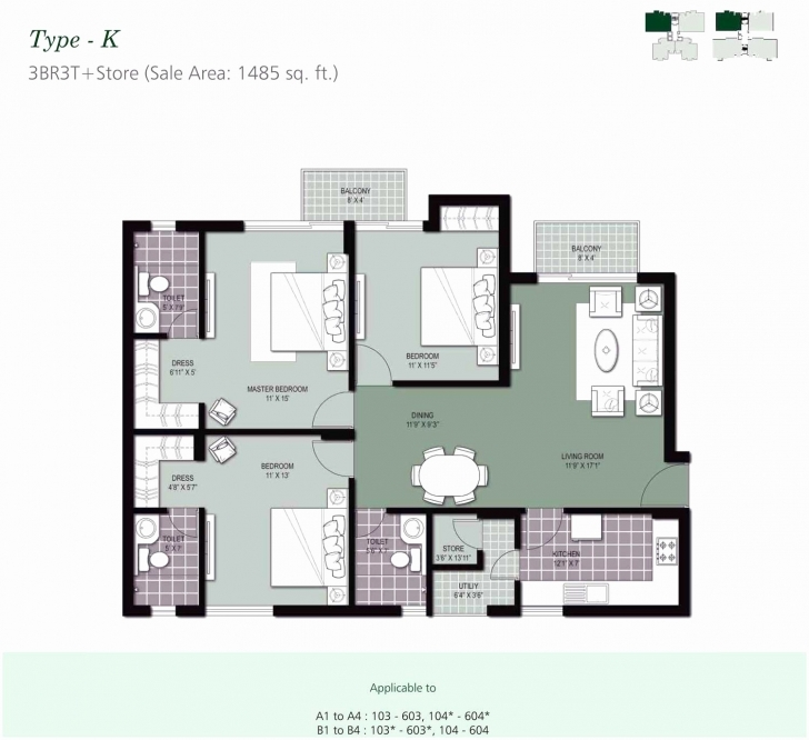 Fantastic Architectural Drawings Of 3 Bed Room Flat For Home Design Bedroom 3 Bedroom Flat Design Plan In Nigeria Photo