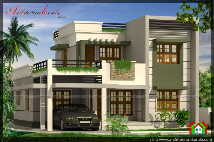 Fantastic Below 2000 Square Feet House Plan And Elevation - Architecture Kerala Kerala House Elevation Models Photo