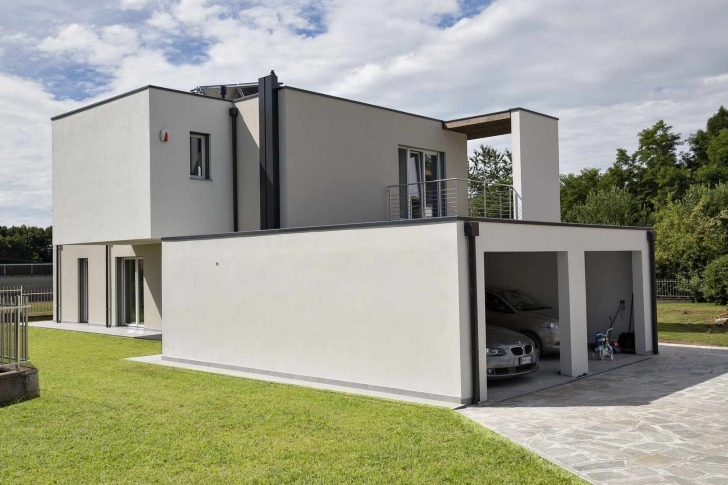 Fantastic Contemporary Flat Roof House | Modern Glass Houses - Kager Modern Flat Roofed Houses Image