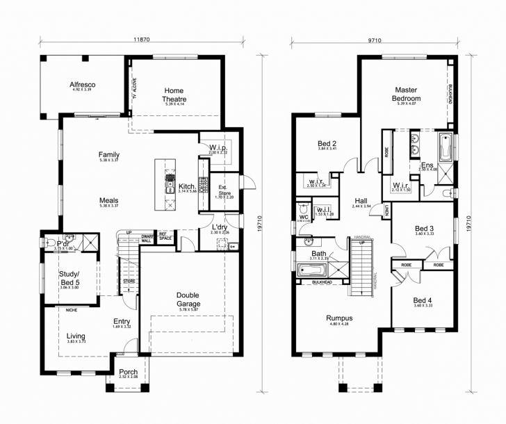 Fantastic Double Story House Plan South Africa Beautiful Double Storey House Double Story House Plan In South Africa Image