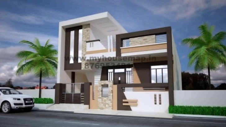 Fantastic House Plans Front Elevation India - Youtube Front Elevation Of House Image
