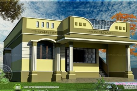 Simple House Front Elevation Designs For Single Floor