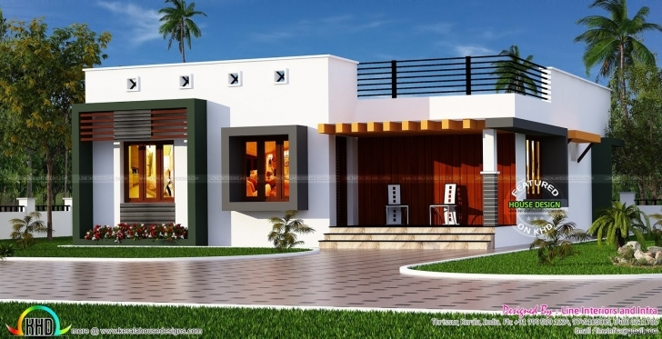 Fantastic Indian Single Floor Home Front Design New In | Home Design Home Front Design In Single Floor Image